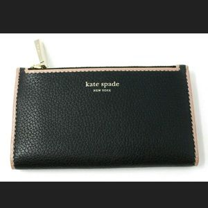 Kate Spade New York Pink LeatherWallet Small